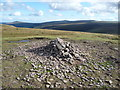 SO2235 : Cairn on the summit of Twmpa by Jeremy Bolwell