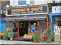 TQ2385 : Meral's Caf&eacute;, Cricklewood Lane, NW2 by Mike Quinn