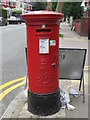 TQ2385 : Edward VII postbox, Chichele Road / Rockhall Road, NW2 by Mike Quinn