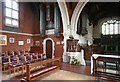 TL5125 : St John, Stansted Mountfitchet - Organ by John Salmon