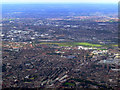 TQ2379 : West London and Wembley Stadium from the air by Thomas Nugent