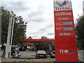 TQ2382 : Petrol station, Kensal Green by Stacey Harris