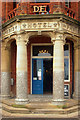 TG2142 : Hotel de Paris, Cromer: seafront entrance by Julian Osley