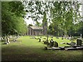 SE3337 : St John's church, Roundhay by Derek Harper