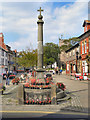 SD3439 : Stocks and Market Cross, Poulton-Le-Fylde by David Dixon