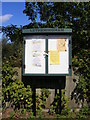 TM2757 : Letheringham Village Notice Board by Adrian Cable