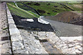 SD9332 : Widdop Reservoir dam by Phil Champion