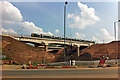 SP0483 : Railway bridge over Selly Oak New Road Phase 2 by Phil Champion