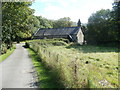 SN8606 : Path to Grade II* listed Church of St Cadoc, Glynneath by John Grayson