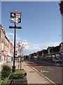 TQ4467 : Petts Wood Village Sign  by David Anstiss