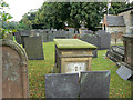 SK6936 : Churchyard at Holy Trinity by Alan Murray-Rust