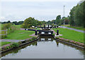 SJ7263 : Lock No 69 near Elworth, Cheshire by Roger  Kidd