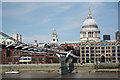 TQ3280 : Millennium Bridge by Richard Croft