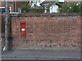 SK6837 : Main Street, Cropwell Butler postbox ref NG12 30 by Alan Murray-Rust