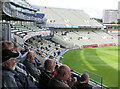 SP0684 : Edgbaston Cricket Ground: watching from the new pavilion by John Sutton