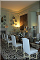 TQ8353 : Dining Room, Leeds Castle, Kent by Christine Matthews