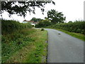 TQ3815 : Sharp bend on Highbridge Lane by Bowling Green Cottage by Dave Spicer