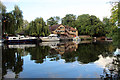 TQ7458 : River Medway, Allington Lock, Kent by Christine Matthews