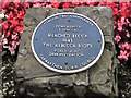 Photo of Rebecca Riots blue plaque