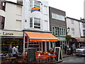 TQ3104 : Utopia Cafe, Gardner Street, Brighton by Jeremy Bolwell