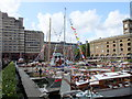 TQ3380 : St Katharine's Dock by PAUL FARMER