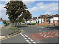 SP1180 : Shirley Road at Temple Avenue by Peter Whatley