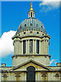 TQ3877 : Dome, Old Royal Naval College by Julian Osley