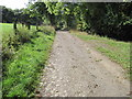 SK3179 : Footpath from New Totley towards Woodthorpe Hall by Chris Wimbush