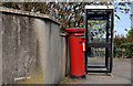 J5081 : Telephone box and pillar box, Bangor by Albert Bridge