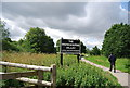 TQ5485 : Entering the Ingrebourne Valley Local Nature Reserve by Nigel Chadwick