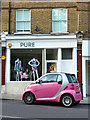 TQ3194 : Pure Fashion, Winchmore Hill Green, London N21 by Christine Matthews