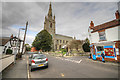 TF1444 : Heckington St Andrews Church Main Street by JOHN BLAKESTON