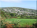 SW7139 : View of Lanner, near Redruth , Cornwall by Derek Voller