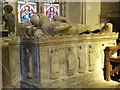 SK8039 : Tomb of John de Roos, St Mary's Bottesford by J.Hannan-Briggs