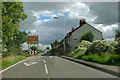 TQ5381 : Traffic calming past New Cottages by Robin Webster