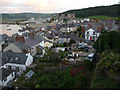 SH7877 : Rooftops and gardens of Conwy by Phil Champion
