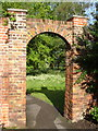 TQ4275 : Arch, Well Hall Pleasaunce by Derek Harper