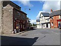 SO1533 : Town Square, Talgarth by Oliver Dixon