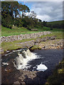 SD8986 : Waterfall on Bardale Beck at Wipera Side by Karl and Ali