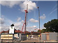TQ3771 : Construction site on Southend Lane by David Anstiss
