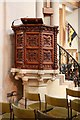 SP8113 : St Mary, Aylesbury - Pulpit by John Salmon