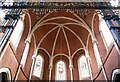 TQ3383 : St Chad, Dunloe Street, E2 - Apse roof by John Salmon