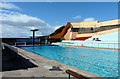 ST4677 : Portishead Swimming Pool by Rick Crowley