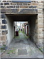 SD7933 : Backstreet off Ribble Street, Padiham by Alexander P Kapp