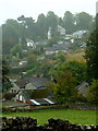 SK2168 : A corner of Bakewell on a misty morning by Andrew Hill