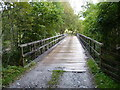 NN2580 : Bridge over the Allt Leachdach by Richard Law
