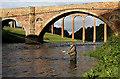 NT5734 : Salmon fishing on the River Tweed : Week 38