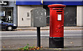 J3471 : Pillar box and drop box, Belfast by Albert Bridge