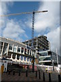 SP0686 : Birmingham library under construction 2011 by Keith Edkins