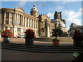 SP0686 : Victoria Square and the Council House by Keith Edkins